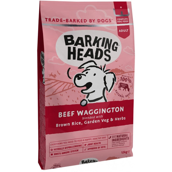 Barking Heads Beef Waggington NEW! 12kg