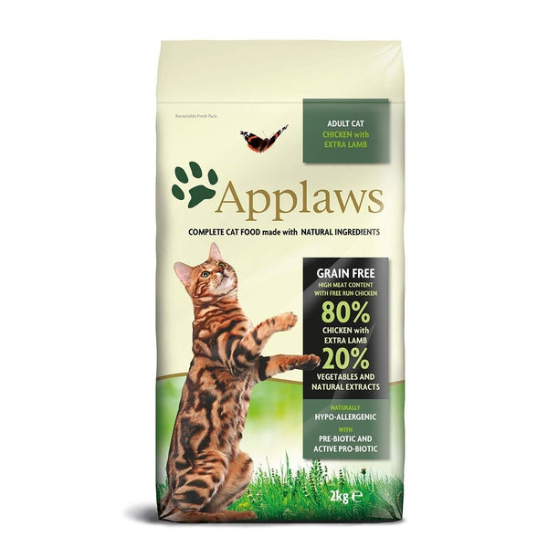 Applaws Cat Dry Chicken, 400g