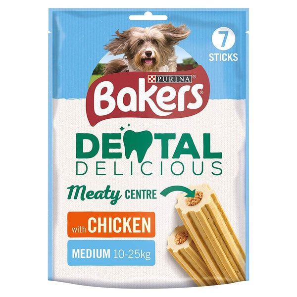 Bakers Dental Delicious Medium Chicken, 200g X 6