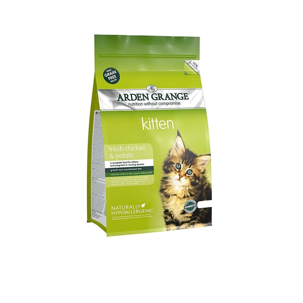 Arden Grange Cat Kitten Chicken & Potato, 2kg