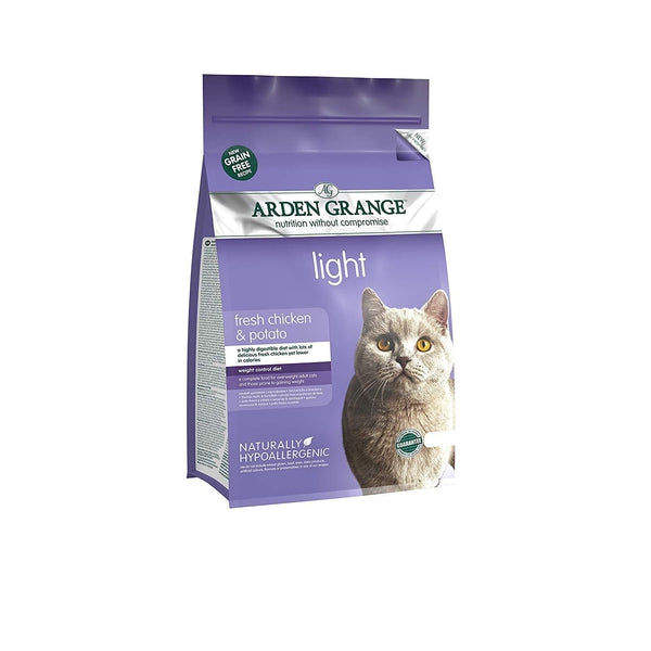 Arden Grange Cat Adult Light Chicken & Potato, 4kg