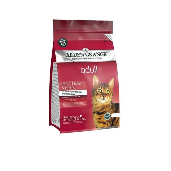 Arden Grange Cat Adult Chicken & Potato, 400g
