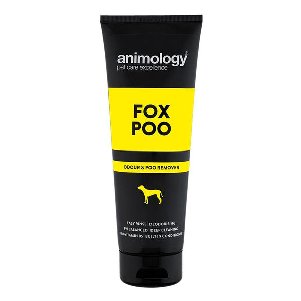 Animology Fox Poo Shampoo Deodorising Dog 250ml Buy more and save!