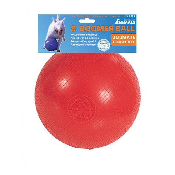 "Boomer Ball 8"" Dog Puppy Toy"