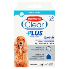 Bob Martin Clear Plus Spot On Medium Dog 3 months