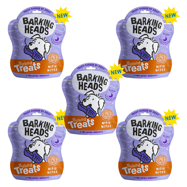 Barking Heads Nitie Nights Baked Treats 100g - Multibuy
