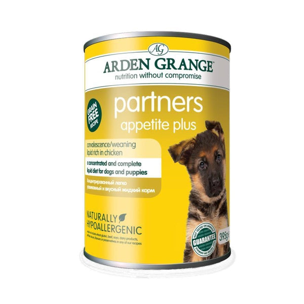 Arden Grange Dog Partners Appetite Plus, 395g X 12