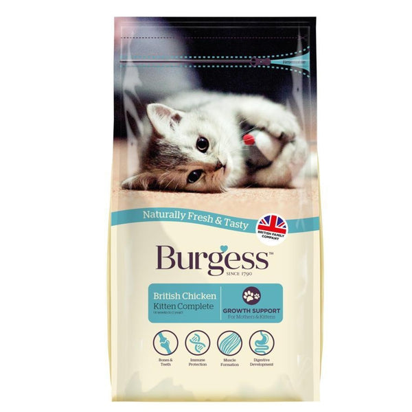 Burgess Kitten Chicken, 1.5kg