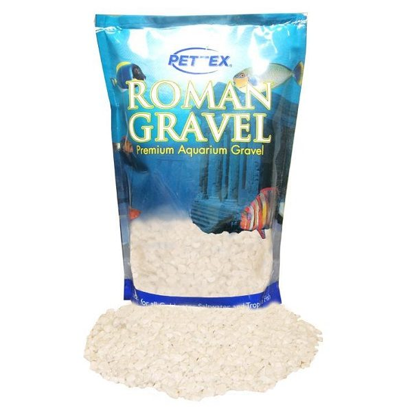 Aquatic Roman Gravel Natural Alpine White 8kg