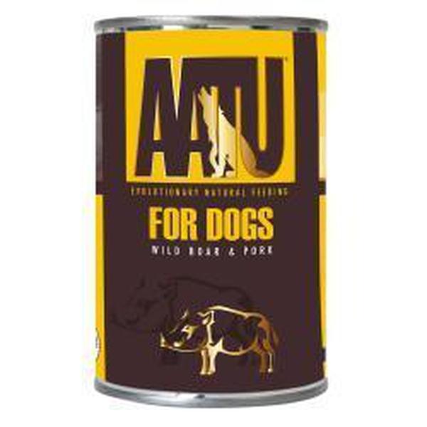 AATU Dog 80/20 Wild Boar, 400g X 6