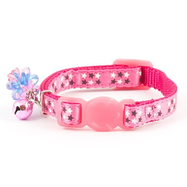 Ancol Luxury Kitten Collar Pink, 12-20cm