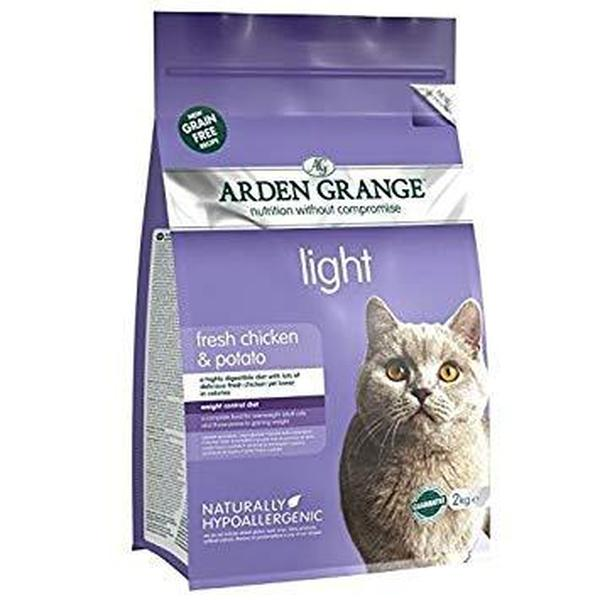 Arden Grange Cat Adult Light Chicken & Potato, 2kg