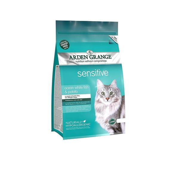 Arden Grange Cat Adult Sensitive, 2kg