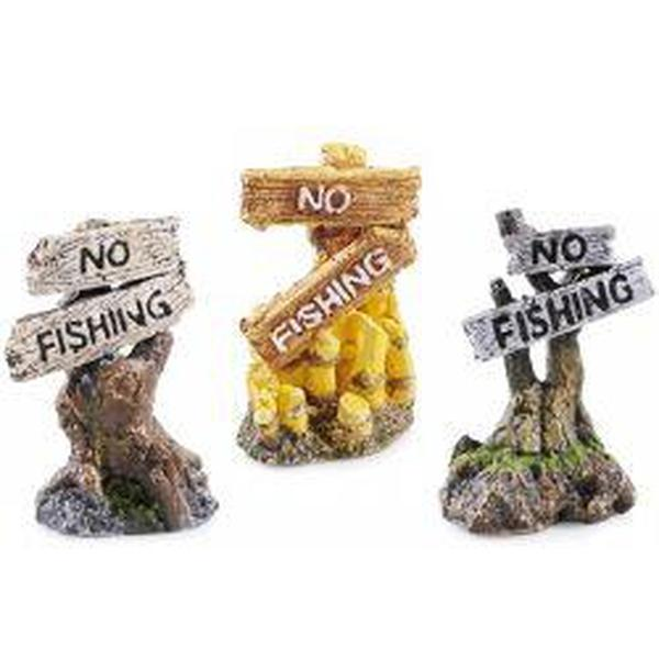 Classic No Fishing Assorted 8cm