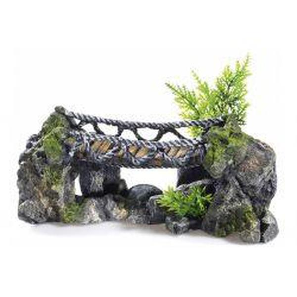 Classic Rocky Rope Bridge 25cm