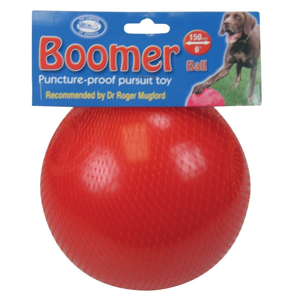"Boomer Ball 6"" Dog Puppy Toy"