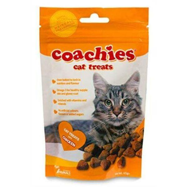 Coachies Cat Treats Chicken, 65g