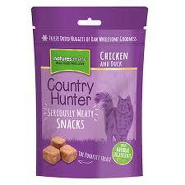 Country Hunter Freeze Dried Chicken and Duck Cat Snacks, 40g