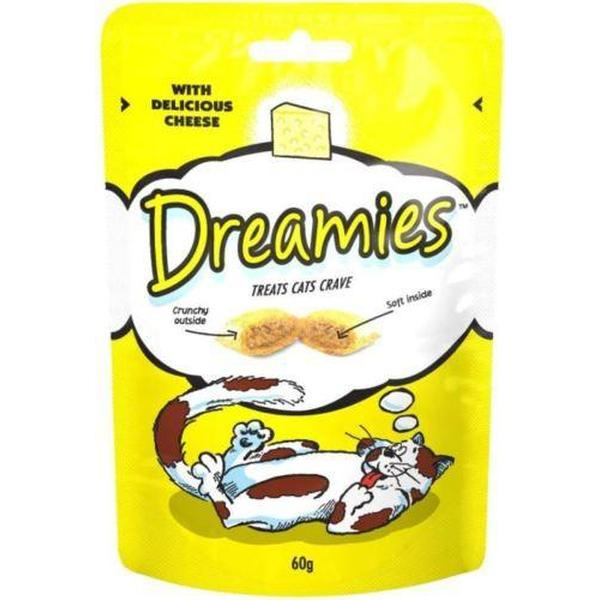 Dreamies Cat Treats with Cheese, 60g X 8