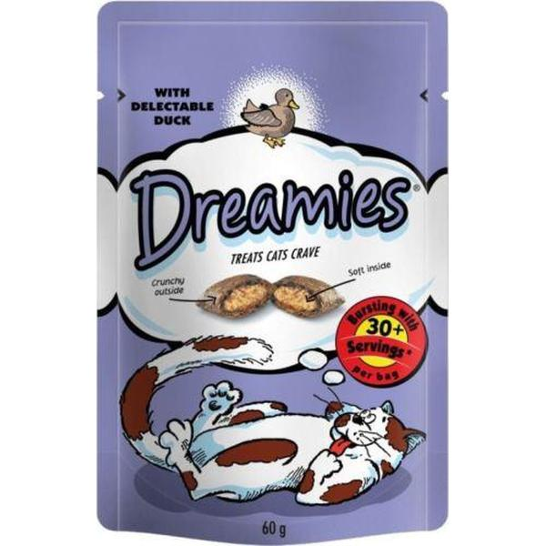 Dreamies Cat Treats with Duck, 60g X 8