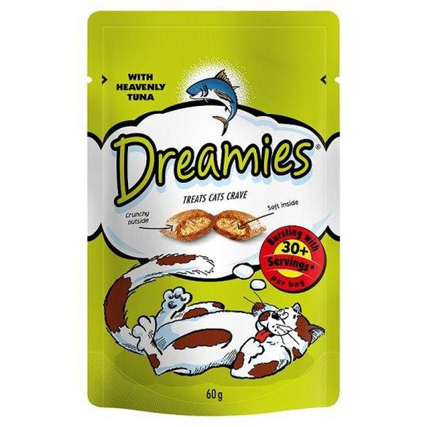 Dreamies Cat Treats with Tuna, 60g X 8
