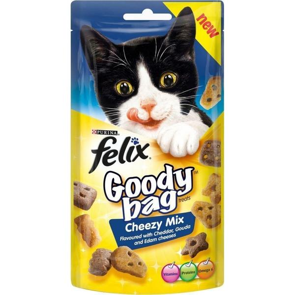 Felix Goody Bag Cheezy Mix, 60g X 8