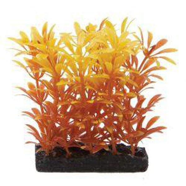 Fish 'R' Fun Aquarium Plant Orange 4""