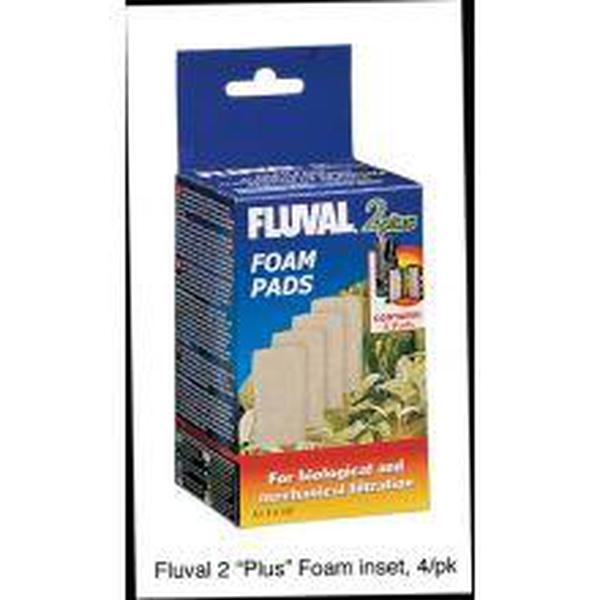 Fluval 2 Plus Foam Pad 4pk