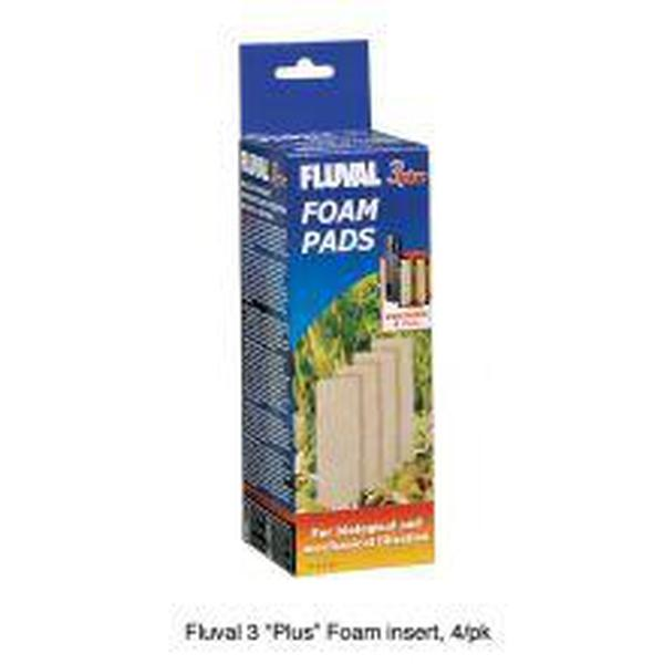 Fluval 3 Plus Foam Pad 4pk