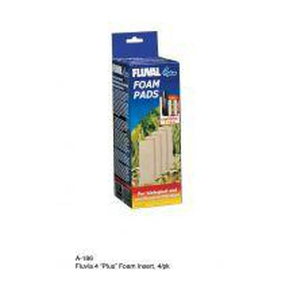 Fluval 4 Plus Foam Pad 4PK