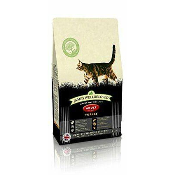 James Wellbeloved Cat Adult Turkey & Rice, 10kg