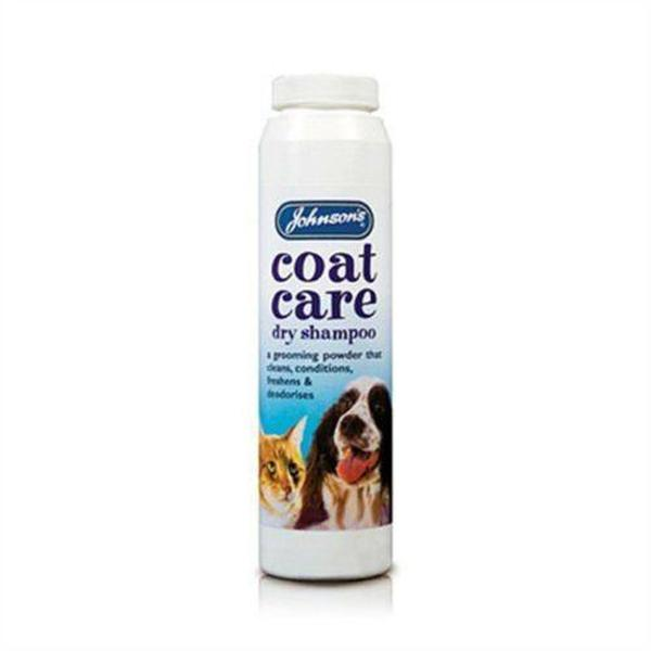 Johnson's Coat Care Dry Shampoo, 85g