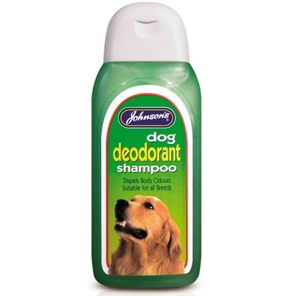 Johnson's Dog Deodorant Shampoo, 125ml