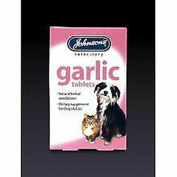 Johnson's Garlic Tabs, 40tabs