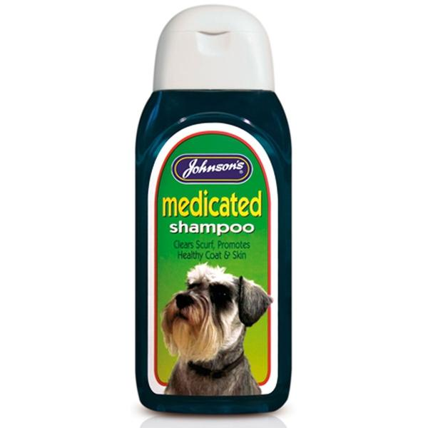 Johnson's Medicated Shampoo, 125ml