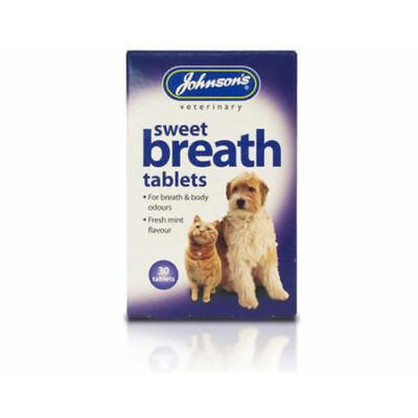 Johnson's Sweet Breath Tabs, 30tabs