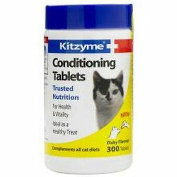 Kitzyme Conditioning Tablets Cats, 300's