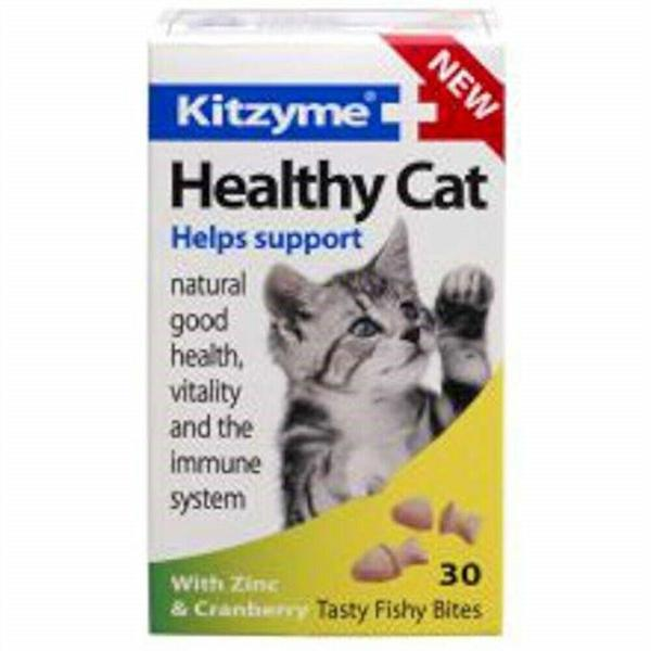 Kitzyme Healthy Cat Tablets, 30's