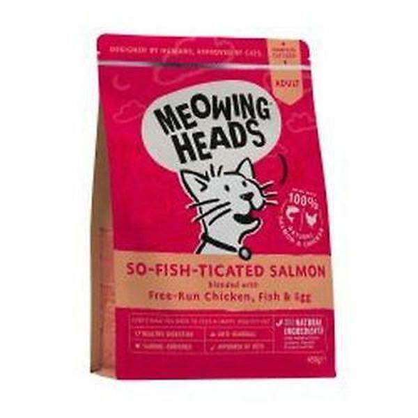 Meowing Heads So-fish-ticated Salmon (Formally Purr-Nickity), 4kg