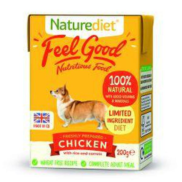 Naturediet Feel Good Chicken 200g, 200g X 8