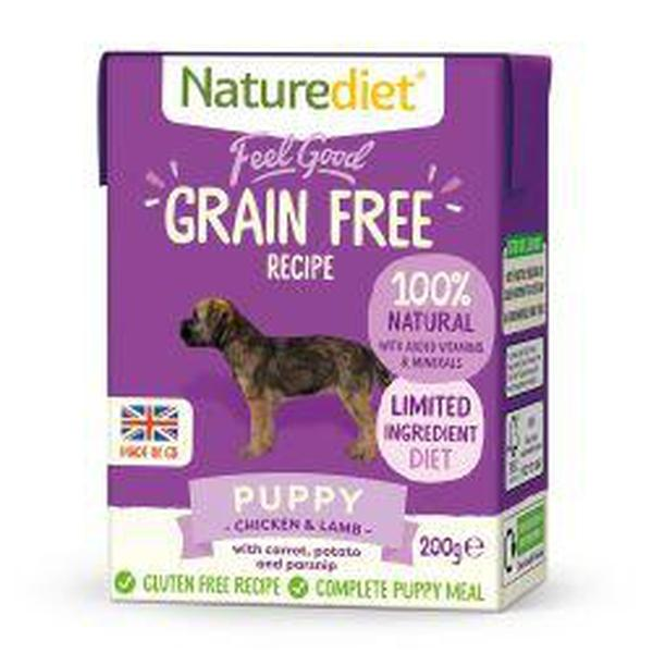 Naturediet Feel Good Grain Free Puppy 200g, 200g X 8