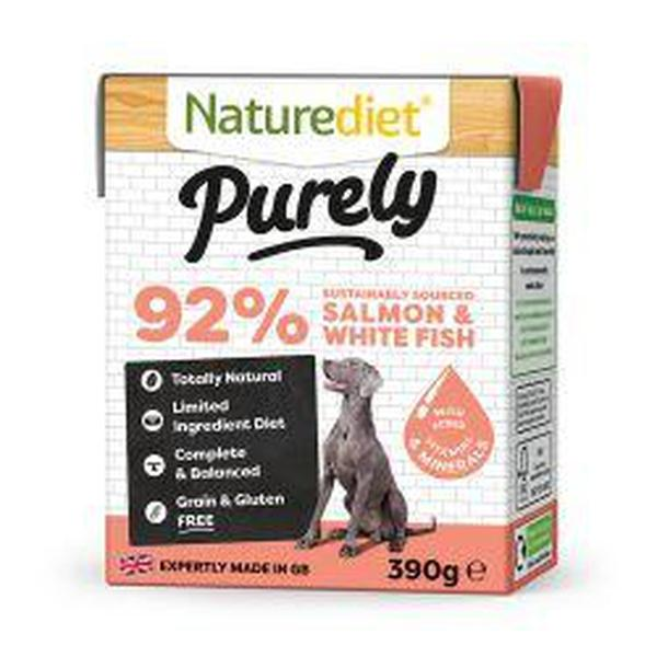 Naturediet Purely Salmon, 390g X 18