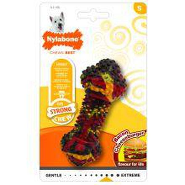 Nylabone Cheese Burger Small, sgl