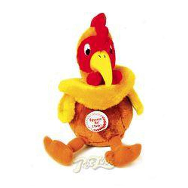 PetLove Chatterbox Toy Cockerel, sgl