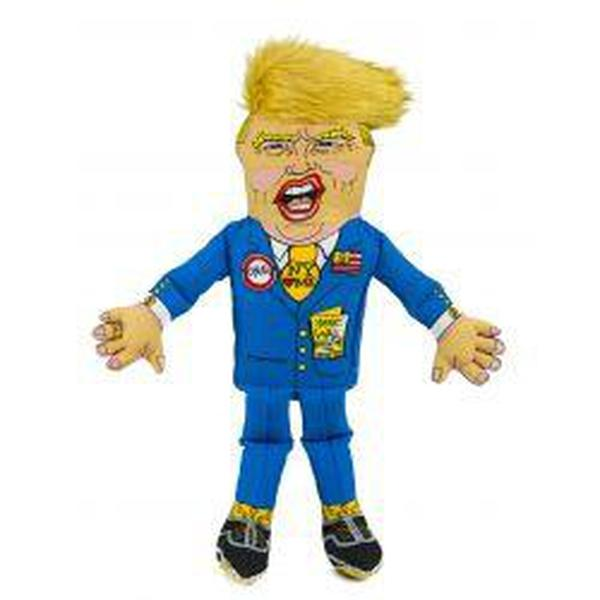 Presidential Parody Donald Dog Toy, lge