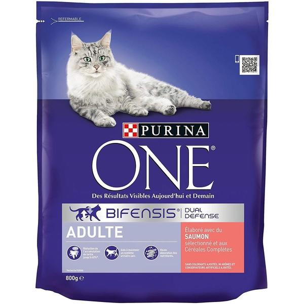 Purina One Cat Salmon, 800g