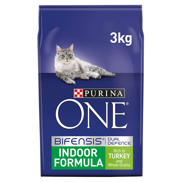 Purina One Indoor Turkey, 3kg