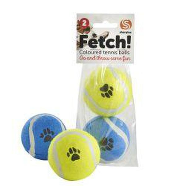 Ruff 'N' Tumble Fetch Tennis Balls, 2pk