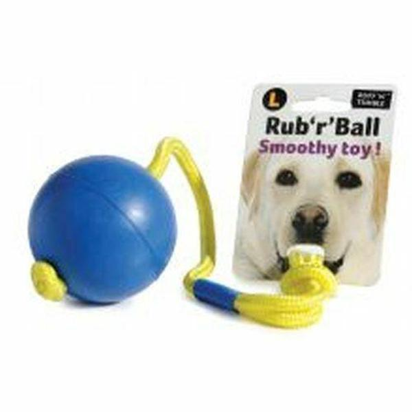 Ruff 'N' Tumble Rub 'R' Ball Smoothy Large, 3""