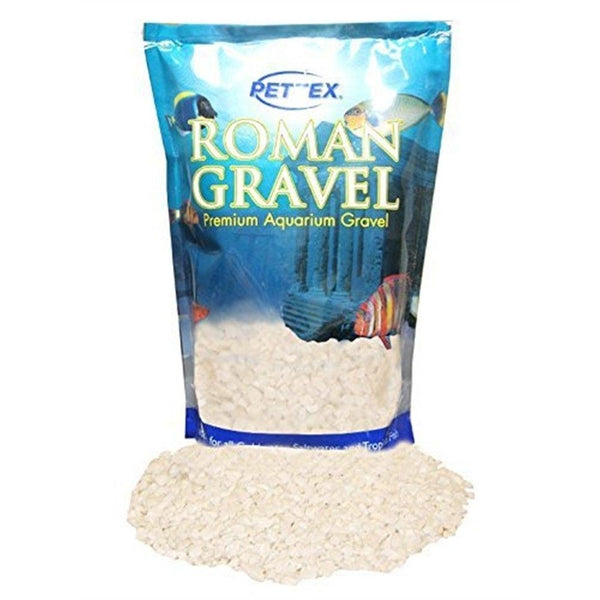 Aquatic Roman Gravel Natural Alpine White 2kg